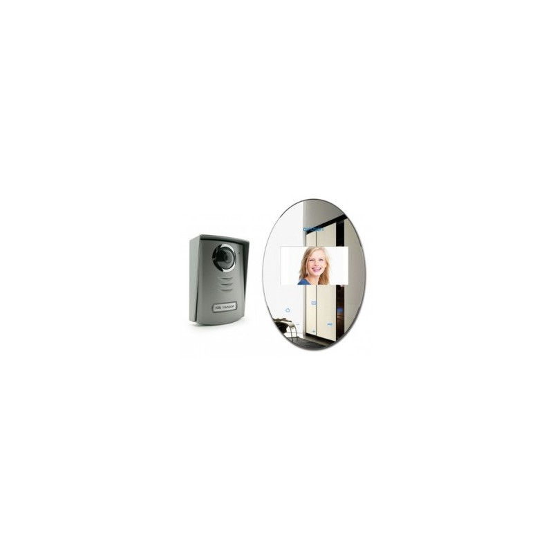 portier visiophone couleurs 2 fils avidsen 112268. Black Bedroom Furniture Sets. Home Design Ideas