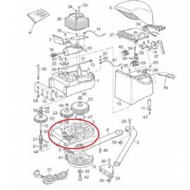 Mhouse Ws2 Ww2 Support bas moteur