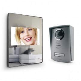 Interphone vidéo effet miroir AVIDSEN - LUTA 2 112207