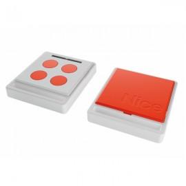 NICE HOME Télécommande radio ECCO5 blanche et orange