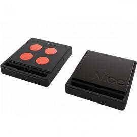 NICE HOME Télécommande radio ECCO5  noir et orange