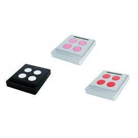 NICE HOME Eccokit Kit 3 télécommandes radio 4 touches pour toute motorisation