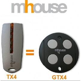 Telecommande Mhouse TX4