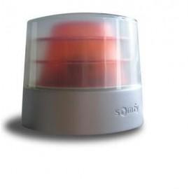 SOMFY - Feu orange Master Prorobuste 24V auto clignotant + antenne intégrée Somfy - 9014377